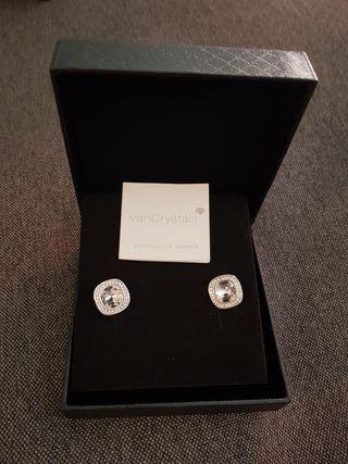 Pendientes con cristales swarovskyi