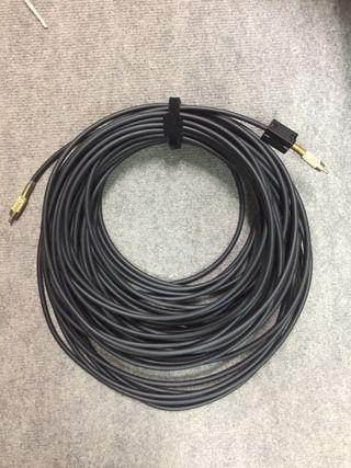 Cable vídeo compuesto 30m