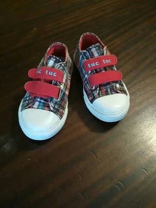 Zapatillas verano Tuc Tuc. Talla 24