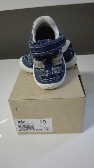 Sandalias/zapatos bebé ots
