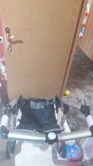 chasis con cesorios y sillaa conpleta com kerais