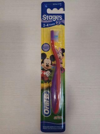 Cepillo de dientes paa niña Oral B