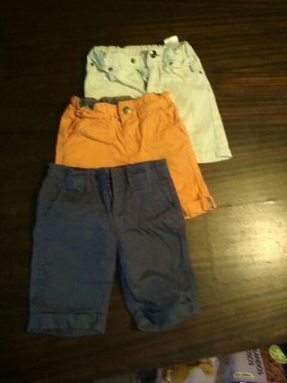 Lote tres pantalones 3 años