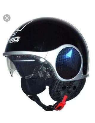 Casco shiro jet glory talla M