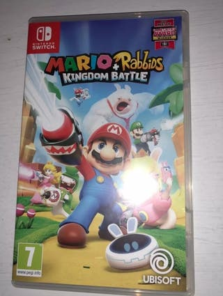 Mario Rabbids Kingdom Battle Switch Juego