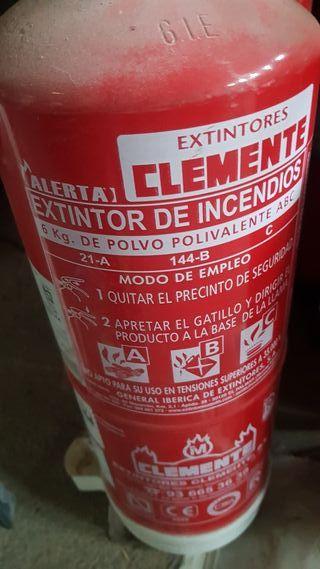 extintores polvo 6 kilos (varios)