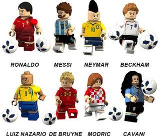 Fútbol jugadores PRECINTADAS