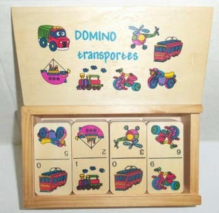 Domino madera transportes