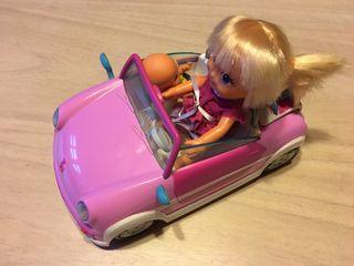 Muñeca Barriguitas coche
