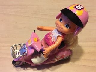 Muñeca Barriguitas moto