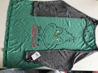 Camiseta navidad de hombre el Grinch