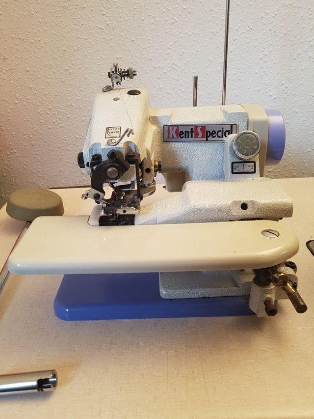 Maquina de coser de puntada invisible de segunda mano por