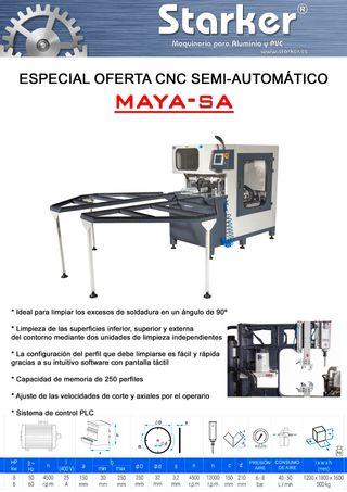 CNC Semi-automático para PVC