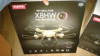 drone x8hw.camara fpv en directo.nuevo+curso 1hora