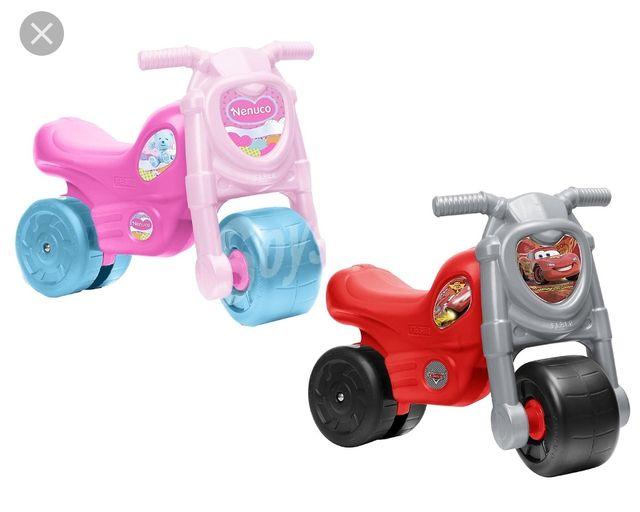 se agradecen motos correpasillos centro infantil