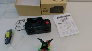 drone dhd r/c d2 con camara. nuevo