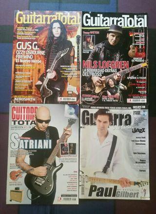 Revistas de guitarra