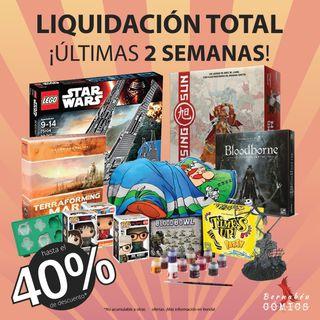 LIQUIDACIÓN TIENDA DE COMICS Y JUEGOS