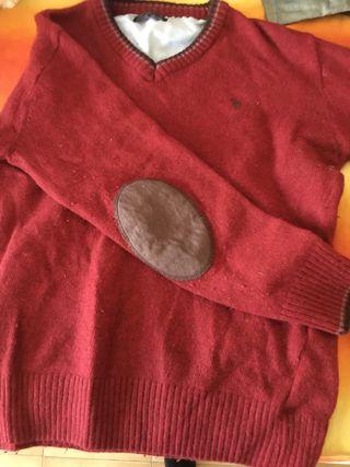 Camiseta granate
