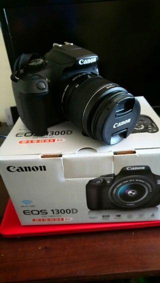 cámara réflex Canon 1300d