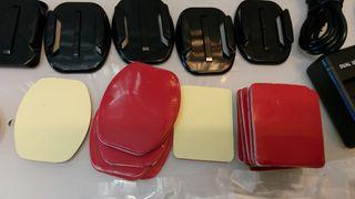 adhesivos soportes gopro y camaras deportivas