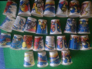 26 vasos de star wars dixie 1980 made in USA
