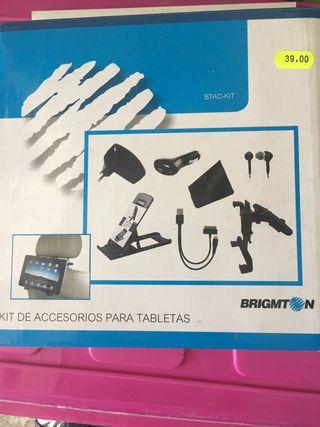 Kit de accesorios para tablet