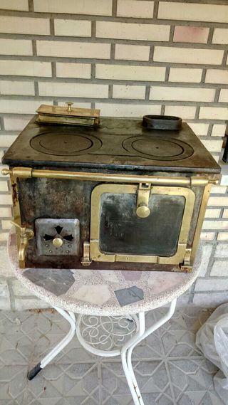 antigua cocina estufa