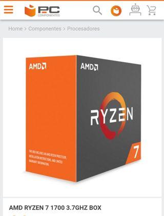 Procesador AMD Ryzen 1700