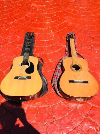 Guitarra flamenca y acústica