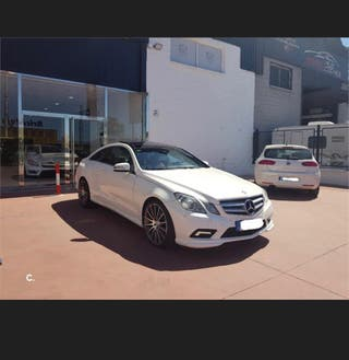 mercedes E350 coupe amg acepto