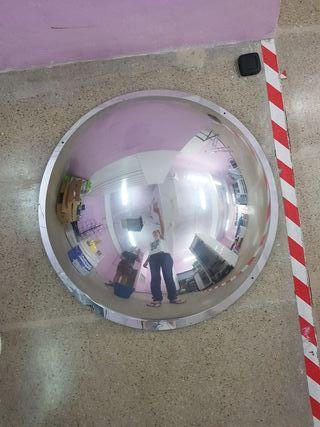 espejos techo seguridad