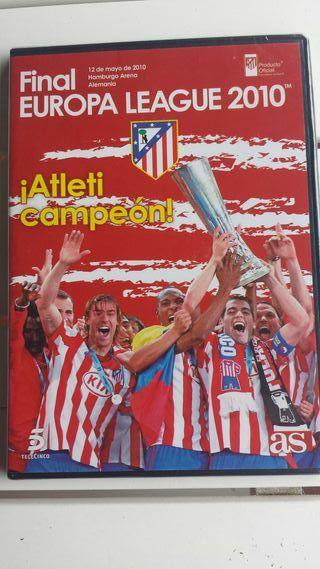 Atlético de Madrid dvd Final europa league 2010
