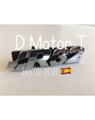 Emblema frontal Rejilla R32 VW