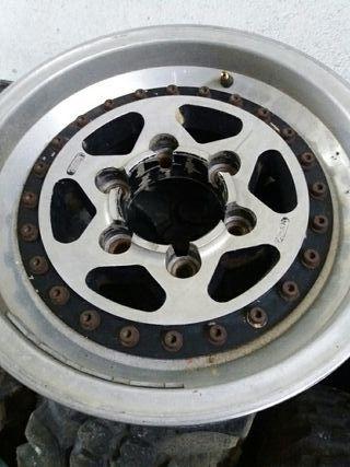 5 llantas aluminio 4x4
