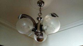lámpara techo vintage