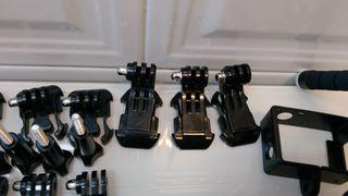 enganches y adaptadores gopro.varios modelos