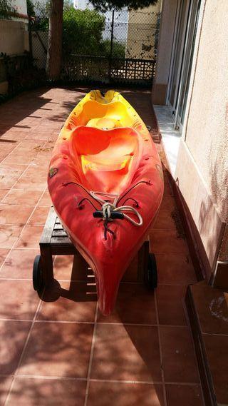 Kayak doble autovaciable lagoon II
