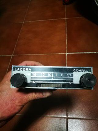 Radio coche clásico