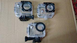 carcasas agua para cámaras deportivas tipo gopro