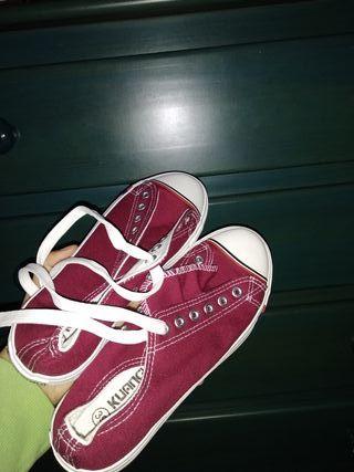 zapatillas loneta-bambas