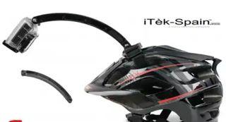 Extensor casco gopro alargador camaras deportivas.