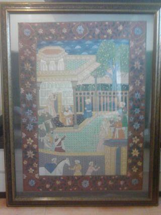 Cuadro estilo persa