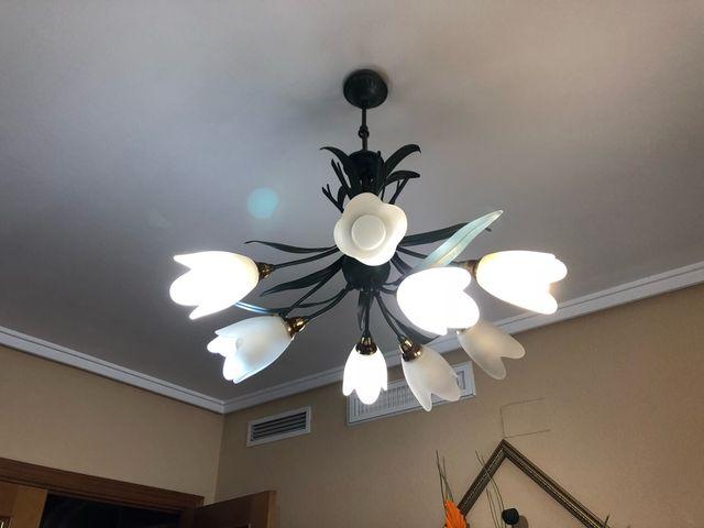 2 lámparas de techo comedor o dormitorio de segunda mano por 150 ...