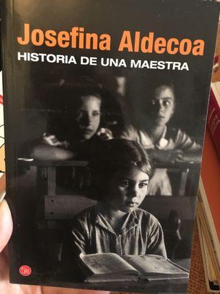 Historia de una maestra de Josefina Aldecoa