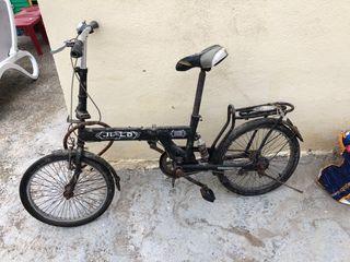 Bici plegable antigua