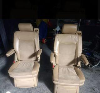 asientos individuales Multivan