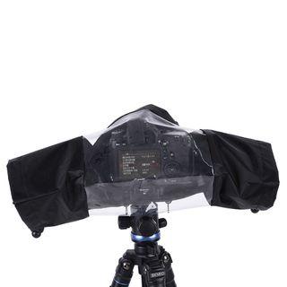 Protector lluvia camara reflex