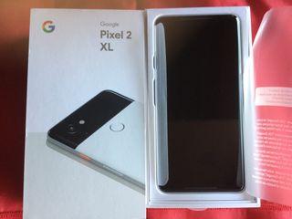 Google Pixel 2 XL. de 128 GB ,Blanco y negro)