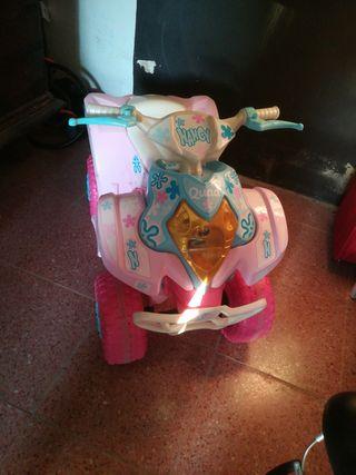 Moto quad niña